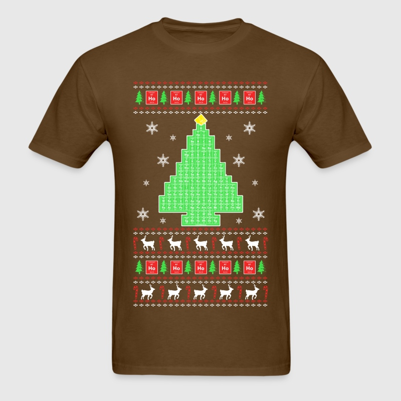 Chemistry - Christmas Tree Sweater T-Shirt | Spreadshirt