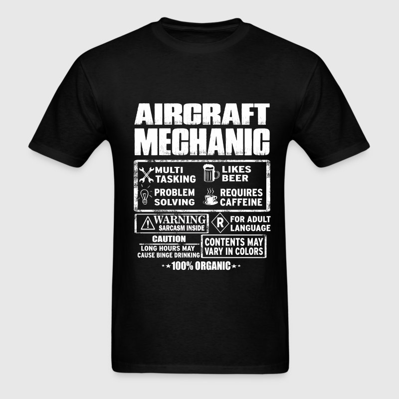 Aircraft mechanic - awesome aircraft mechanic tee - Men's T-Shirt