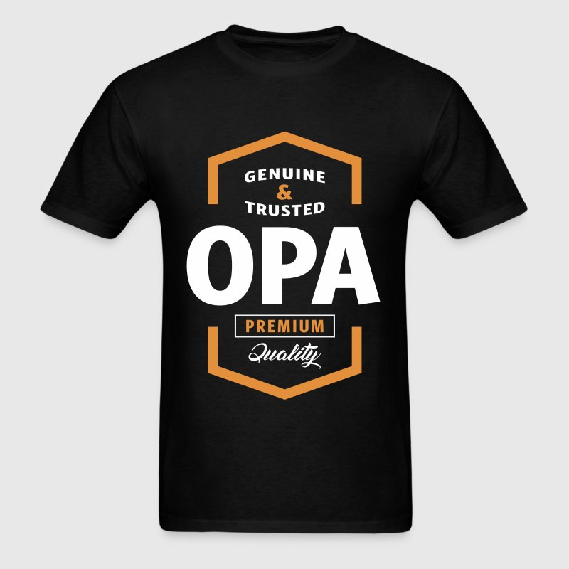 Genuine Opa Tshirt - Men's T-Shirt