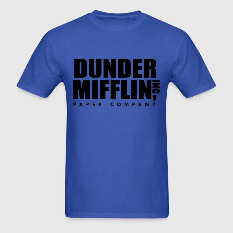 Dunder Mifflin Inc, The Office T-Shirts - Men's T-Shirt