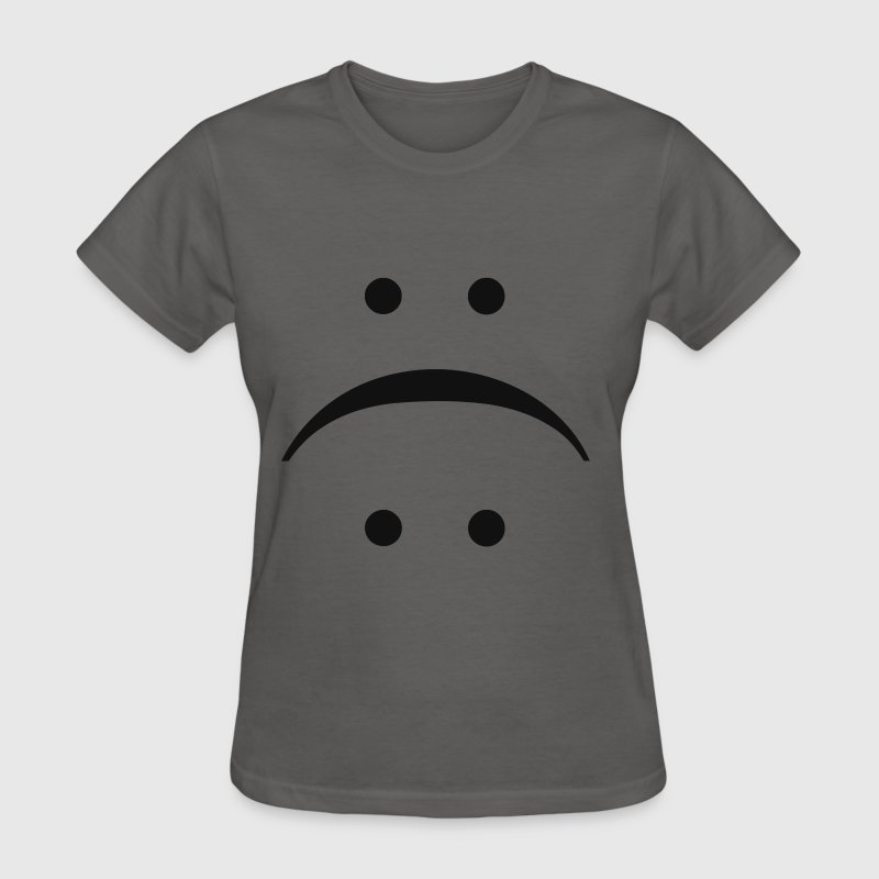 SMILE OR FROWN T-Shirts - Women's T-Shirt