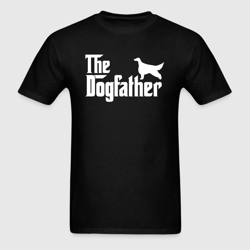 Irish Setter DogFather T-Shirt T-Shirts - Men's T-Shirt