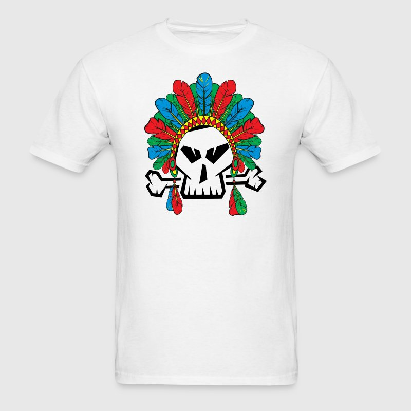 RGB killer skull - Men's T-Shirt