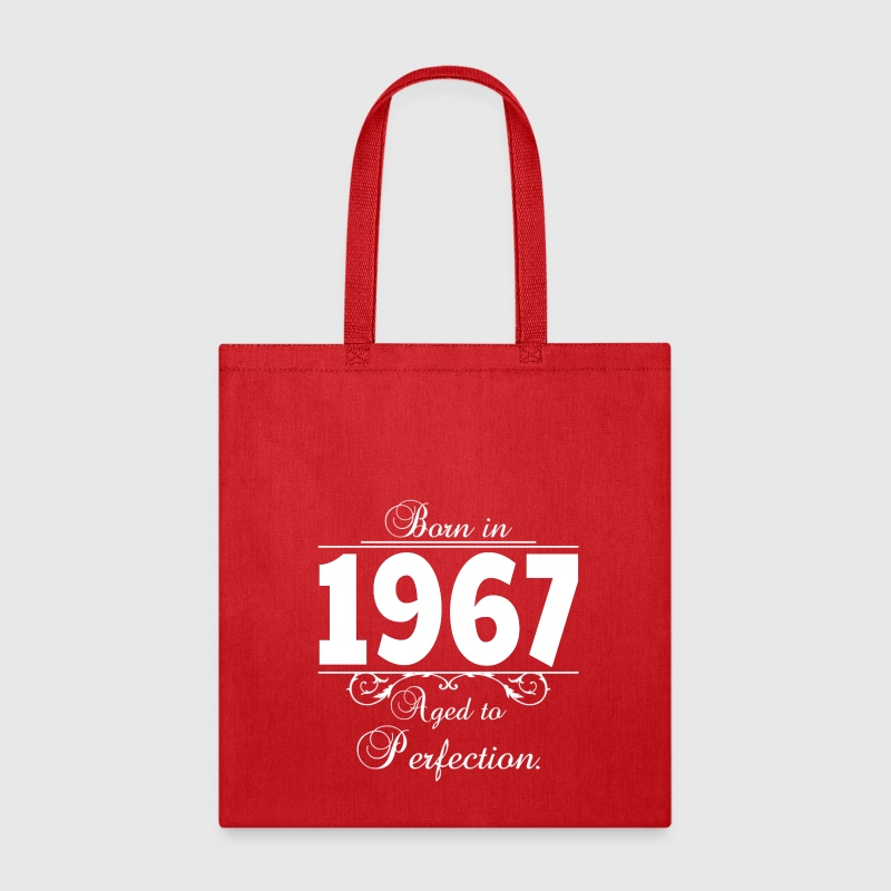 Born in Age 1967 birthday Bags & backpacks - Tote Bag