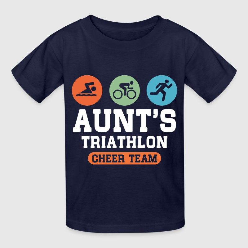 Triathlon Aunt Kids' Shirts - Kids' T-Shirt