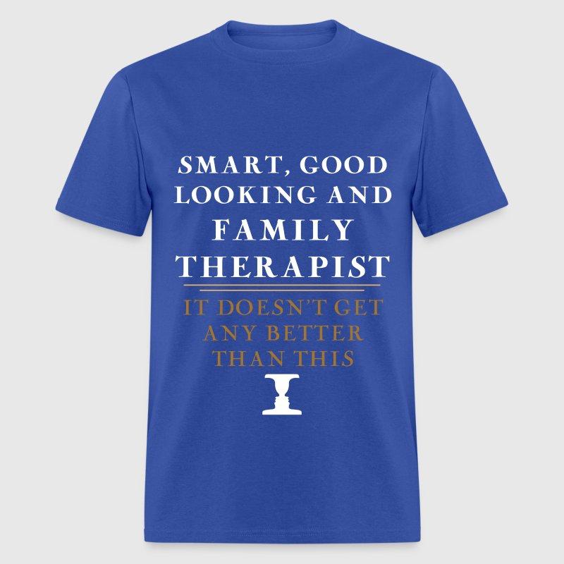 good looking therapist
