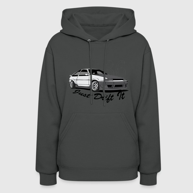 AE86 Just Drift it Hoodies - Women's Hoodie