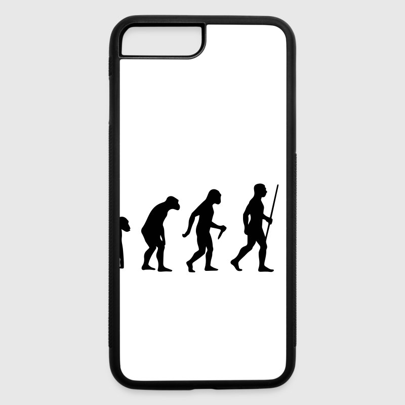 iPhone 7 Plus Case Zyzz Evolution - iPhone 7 Plus/8 Plus Rubber Case