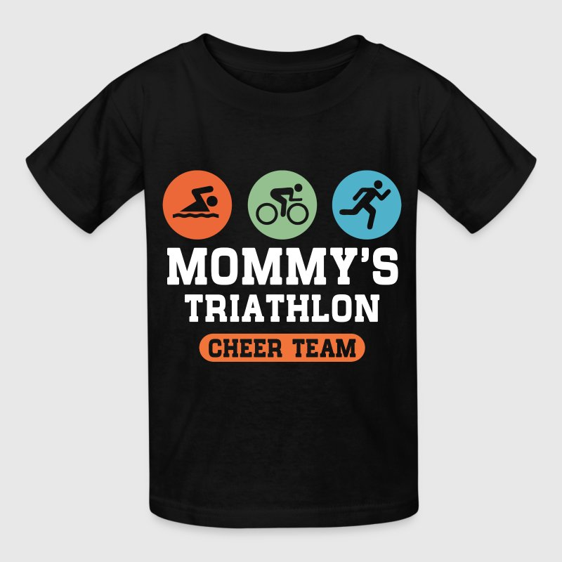Triathlon Mom Kids' Shirts - Kids' T-Shirt