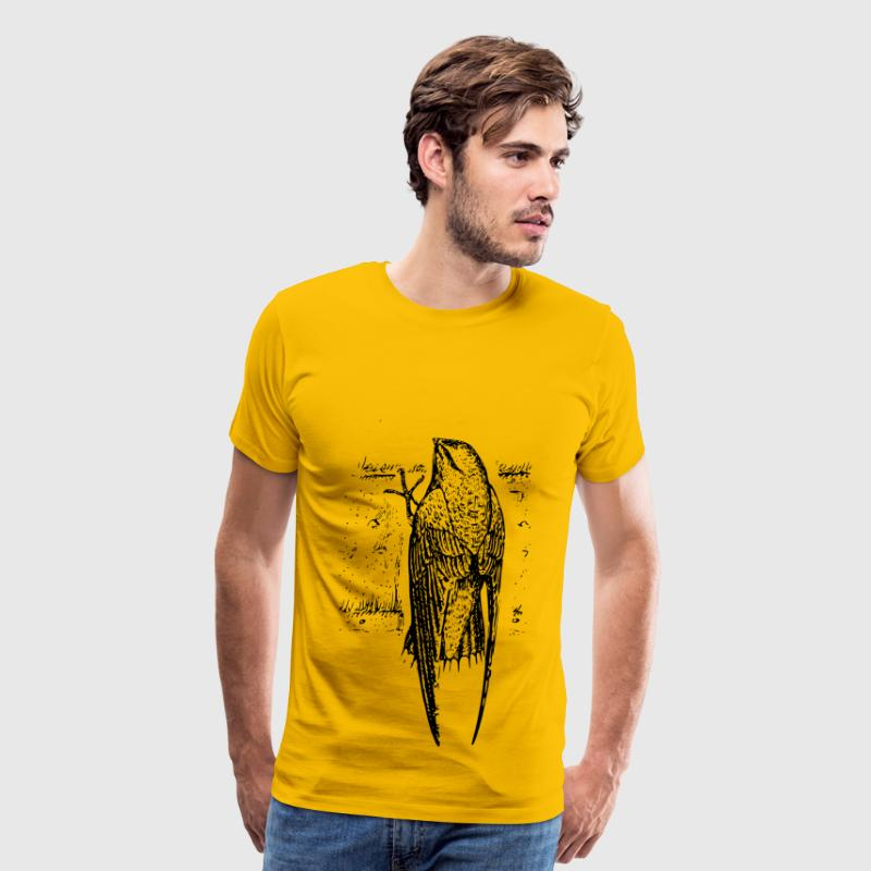 chimney swift (bird) - Men's Premium T-Shirt