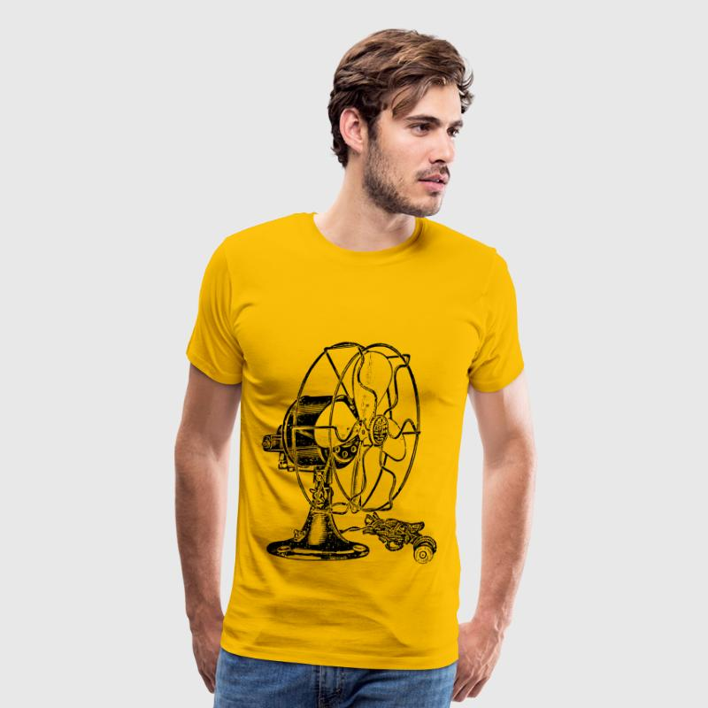 Antique Fan - Men's Premium T-Shirt
