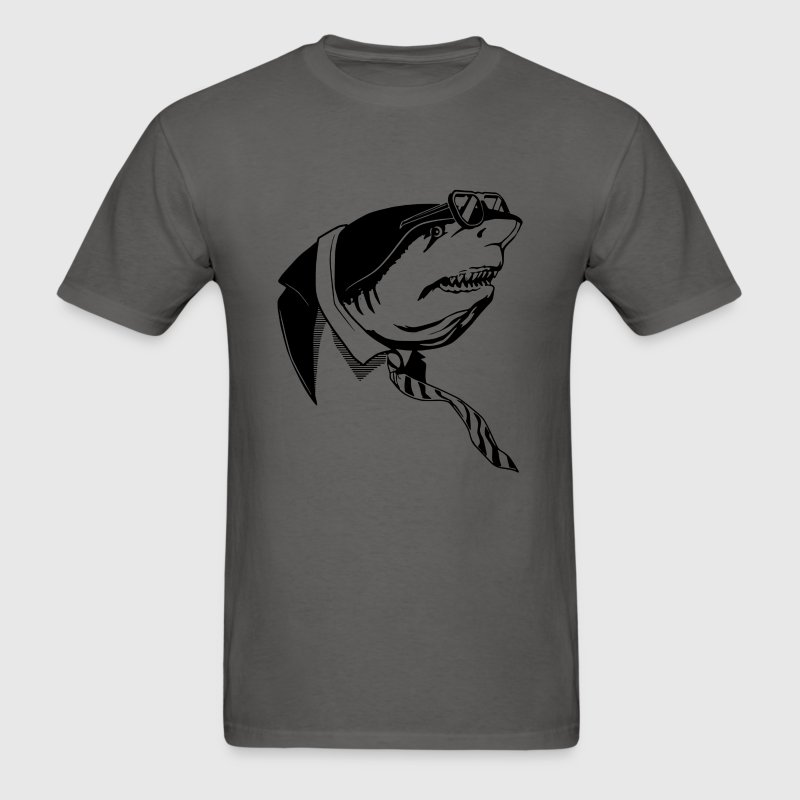 Business Shark - Men's T-Shirt