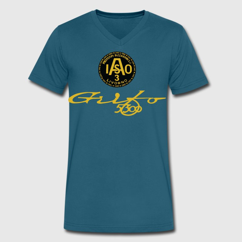 ac3 iso T-Shirts - Men's V-Neck T-Shirt by Canvas