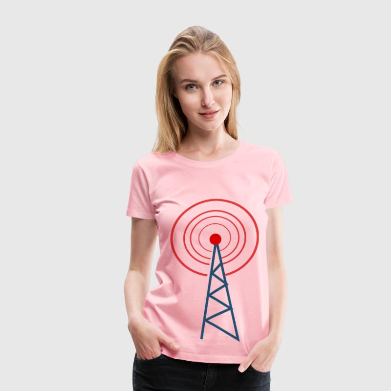 radio tower - Women's Premium T-Shirt