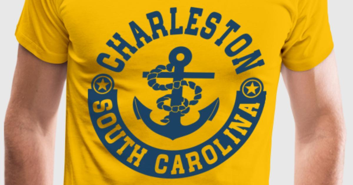Charleston south carolina t shirt spreadshirt for T shirt printing charleston sc