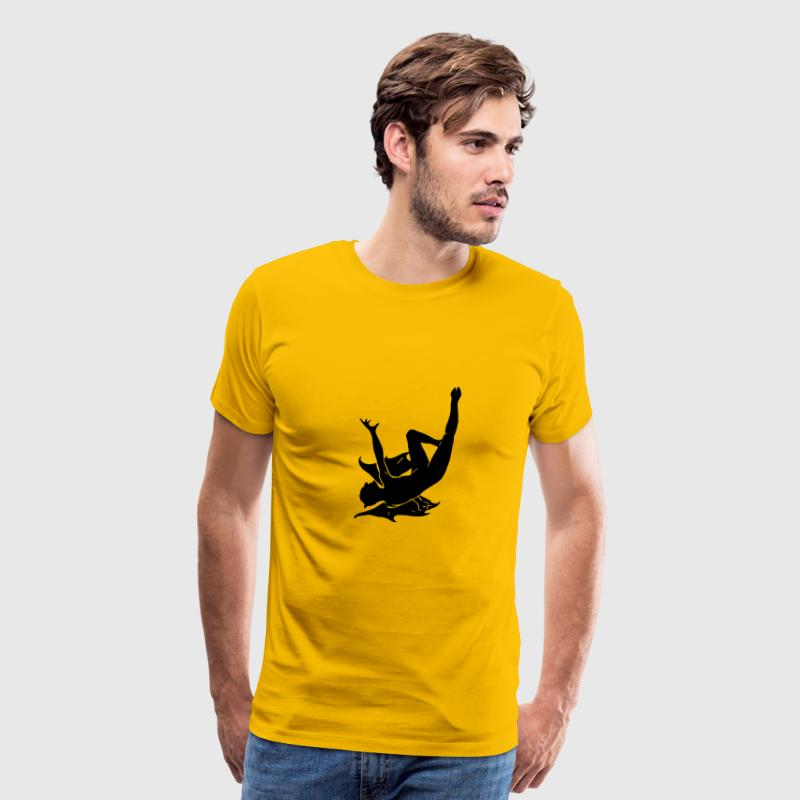 Falling devil - Men's Premium T-Shirt