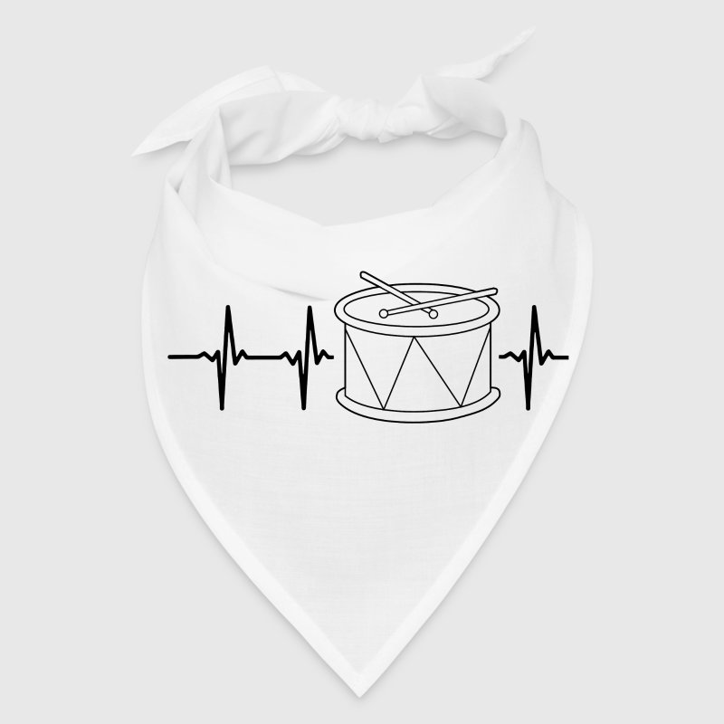 My heart beats for drums Caps - Bandana