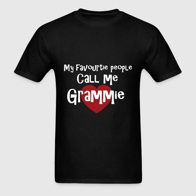 Grammie - My Favourite People Call Me Grammie - Men's T-Shirt