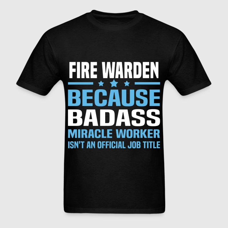Fire Warden Tshirt - Men's T-Shirt