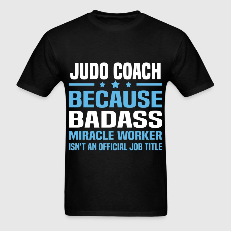 Judo Coach Tshirt - Men's T-Shirt