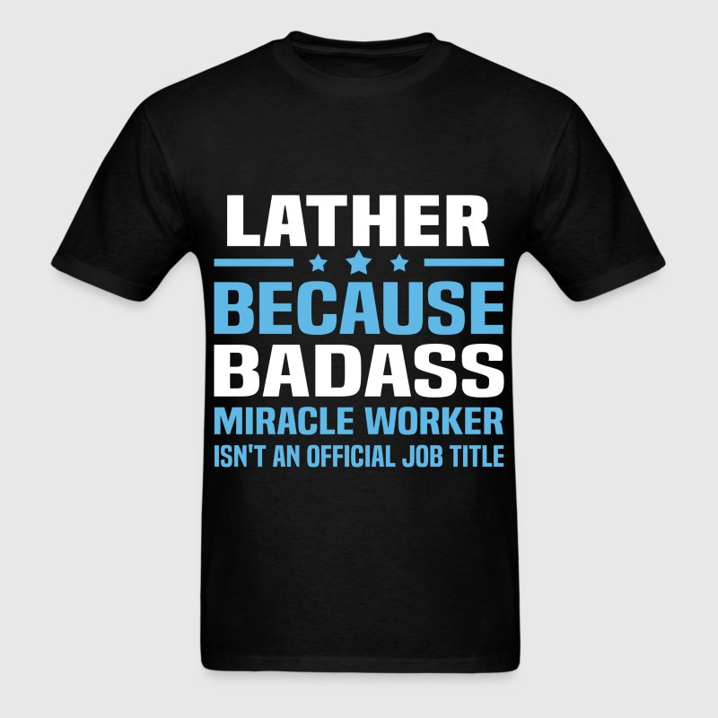 Lather Tshirt - Men's T-Shirt
