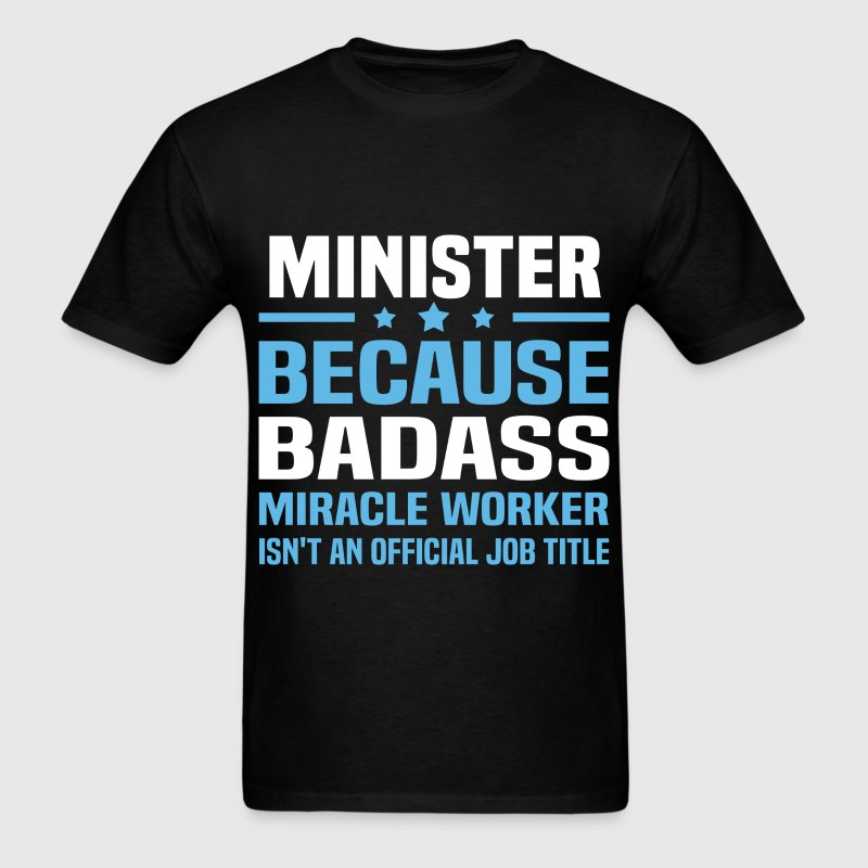 Minister Tshirt - Men's T-Shirt