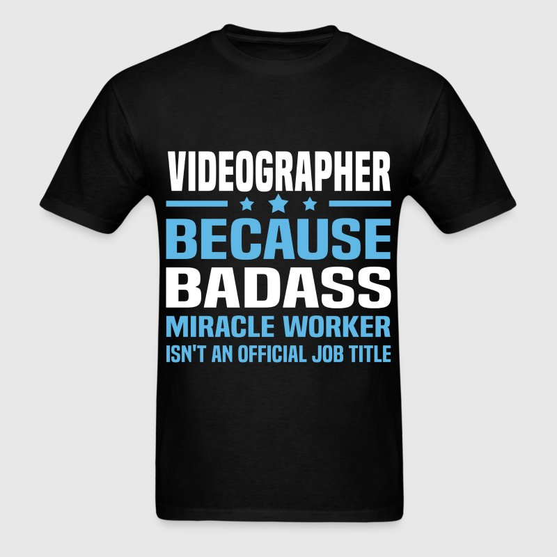 Videographer Tshirt - Men's T-Shirt