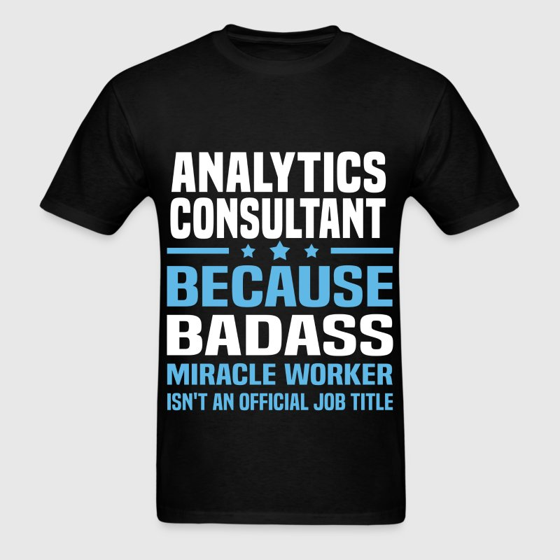 Analytics Consultant Tshirt - Men's T-Shirt
