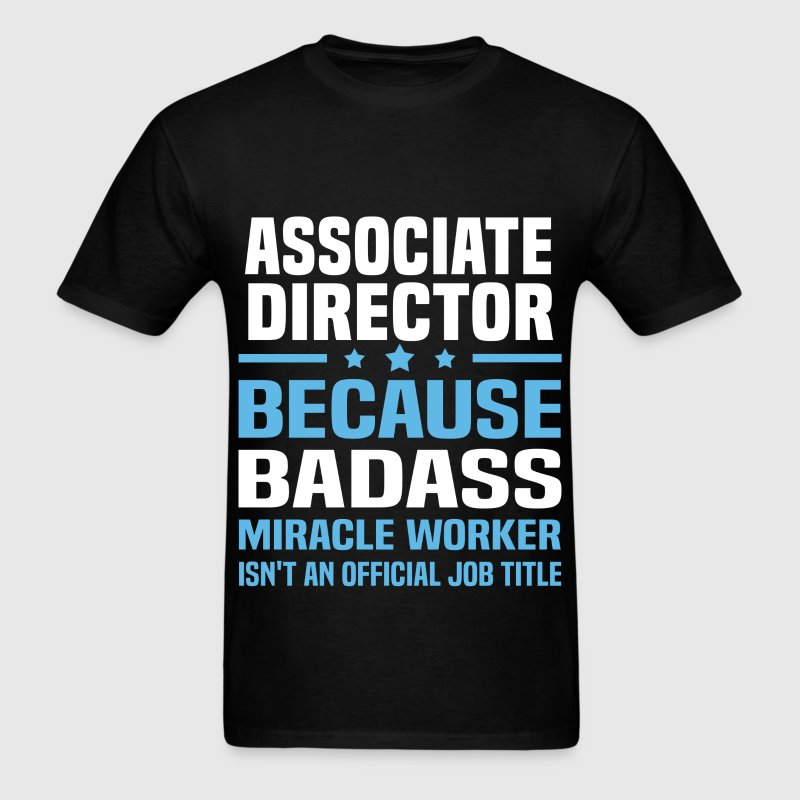 Associate Director Tshirt - Men's T-Shirt