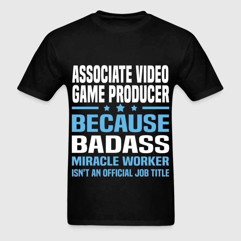 Associate Video Game Producer Tshirt - Men's T-Shirt