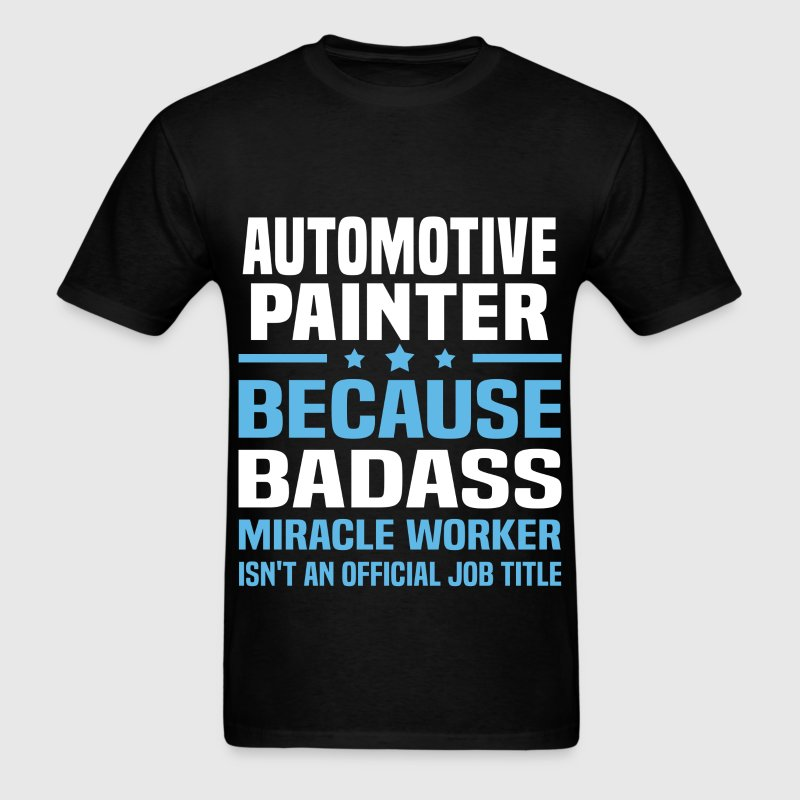 Automotive Painter Tshirt - Men's T-Shirt