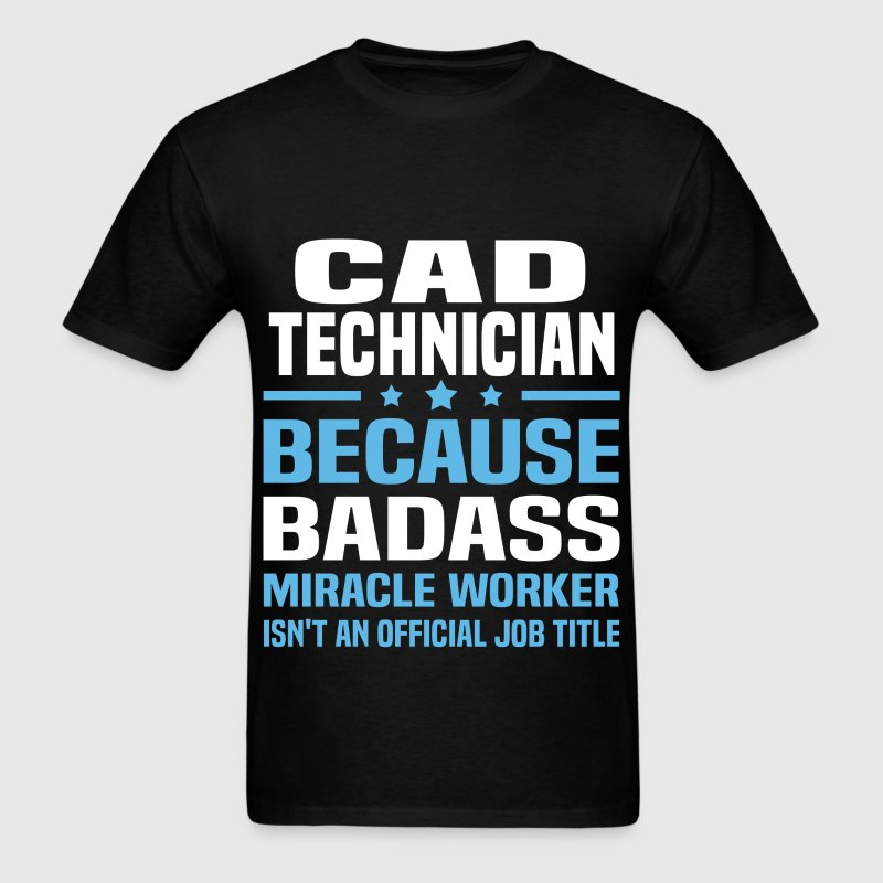 CAD Technician Tshirt - Men's T-Shirt