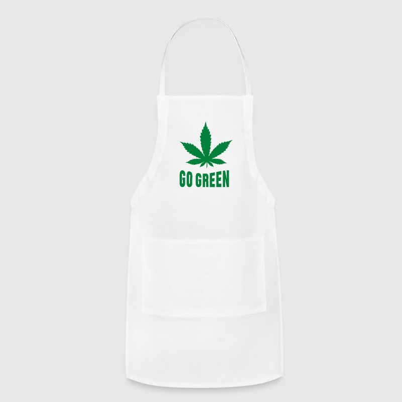 Weed Go Green Aprons - Adjustable Apron