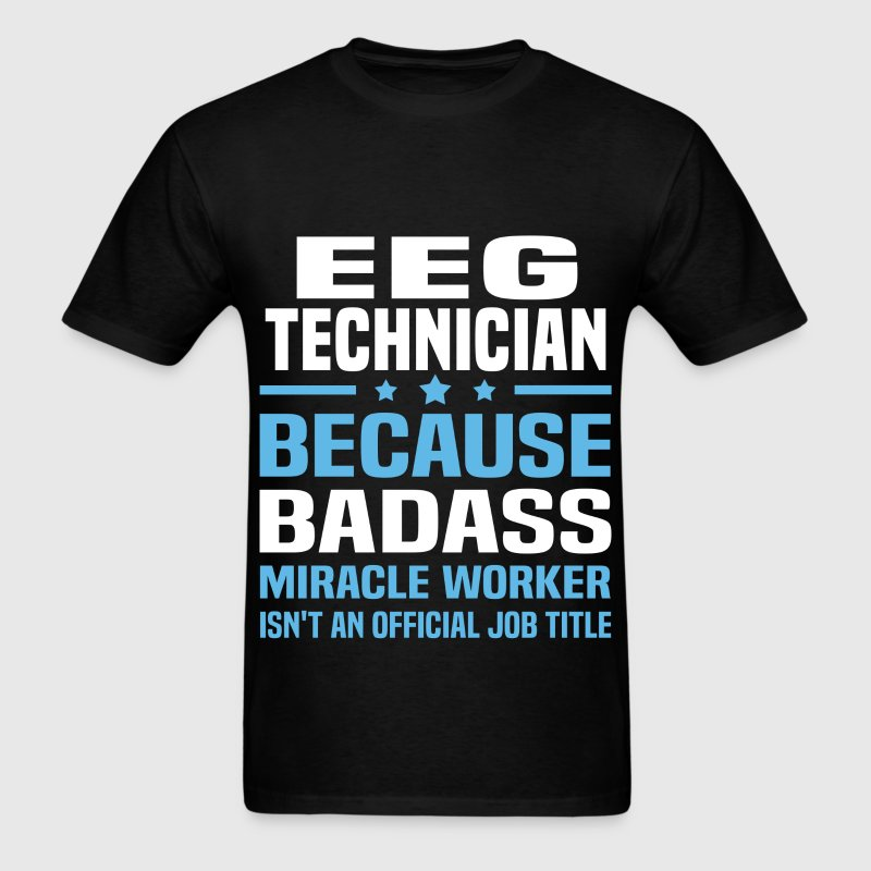 EEG Technician Tshirt - Men's T-Shirt