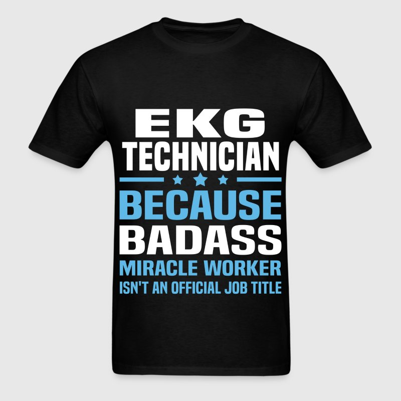 EKG Technician Tshirt - Men's T-Shirt