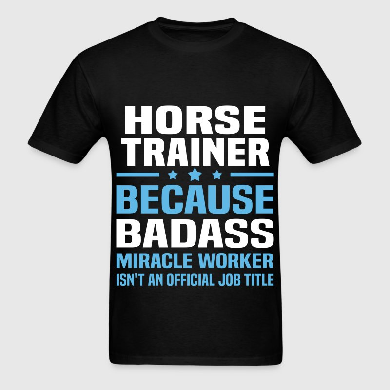 Horse Trainer Tshirt - Men's T-Shirt
