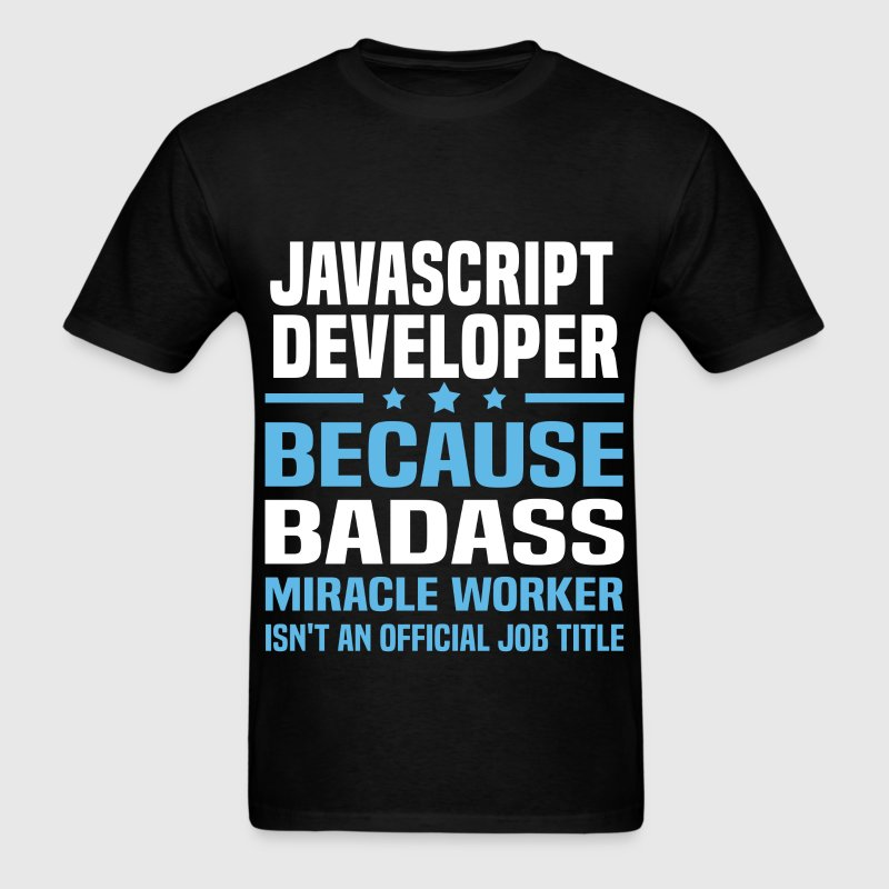 JavaScript Developer Tshirt - Men's T-Shirt