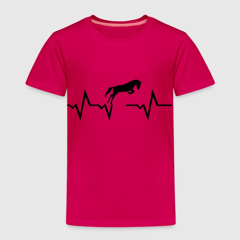 Horse heartbeat Baby & Toddler Shirts - Toddler Premium T-Shirt