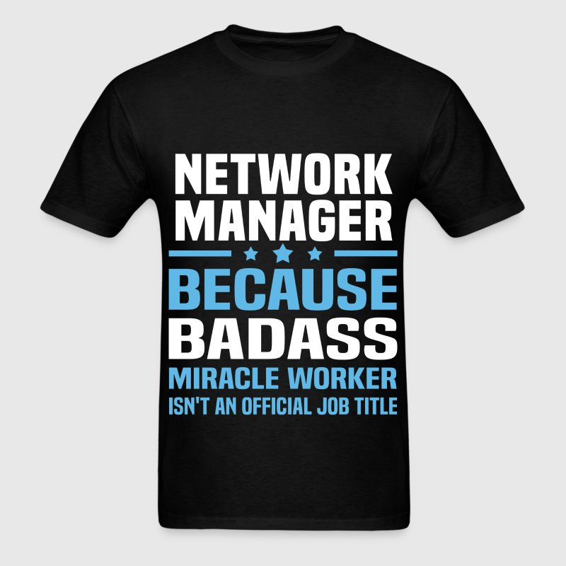 Network Manager Tshirt - Men's T-Shirt