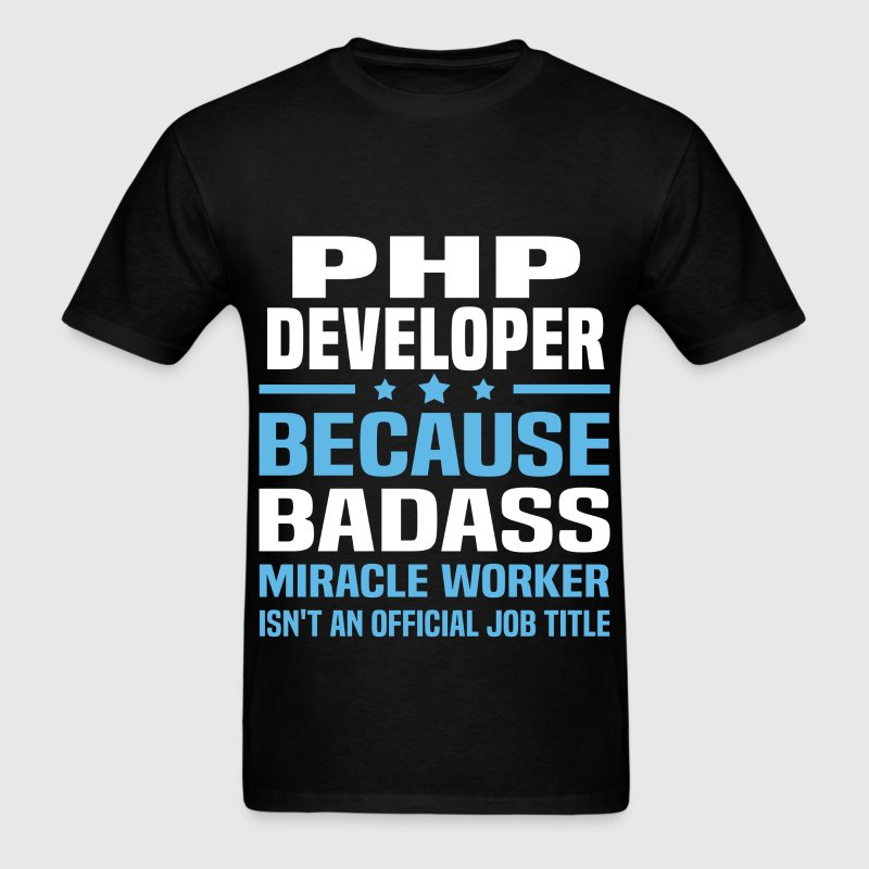 PHP Developer Tshirt - Men's T-Shirt