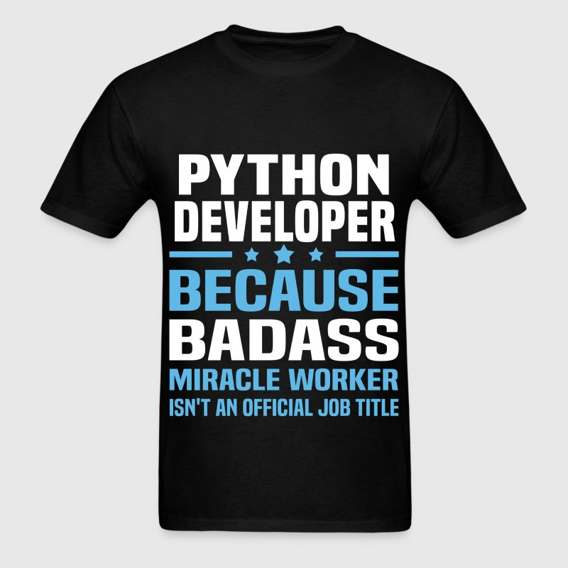 Python Developer Tshirt - Men's T-Shirt