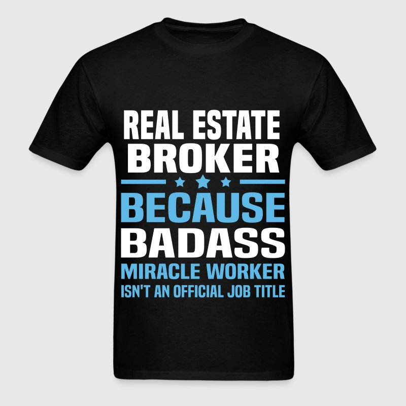 Real Estate Broker Tshirt - Men's T-Shirt