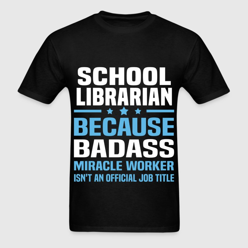 School Library Media Specialist Tshirt - Men's T-Shirt