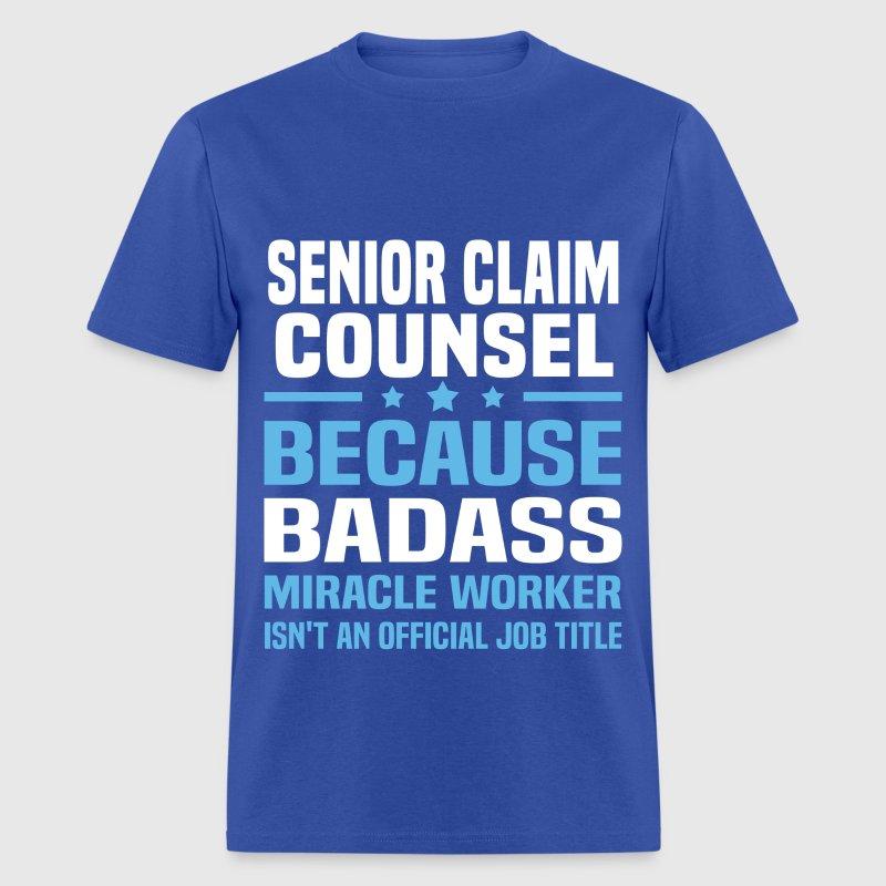 senior claim counsel t shirt spreadshirt. full size of resumerhit ...
