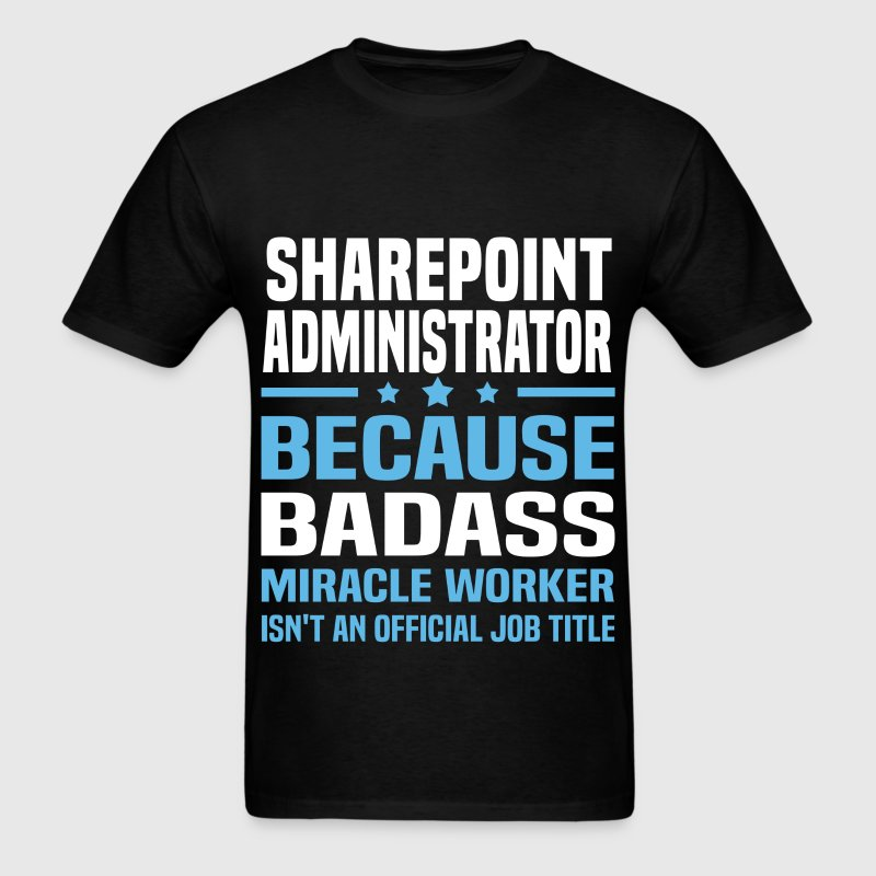 Sharepoint Architect Tshirt - Men's T-Shirt