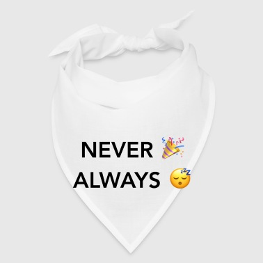 Never Party Always Nap Mugs & Drinkware - Bandana