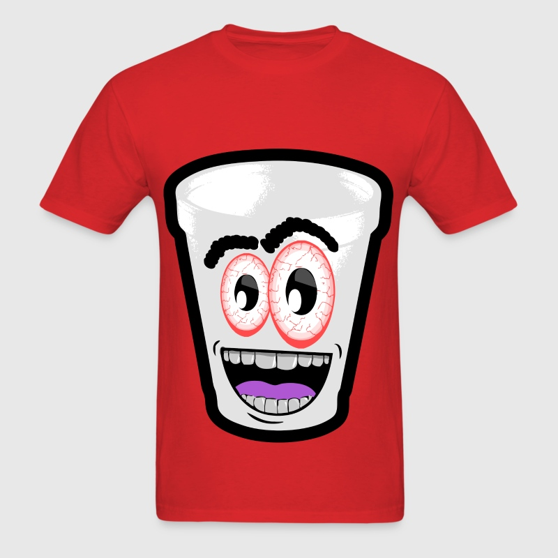 crazy codeine cup T-Shirts - Men's T-Shirt