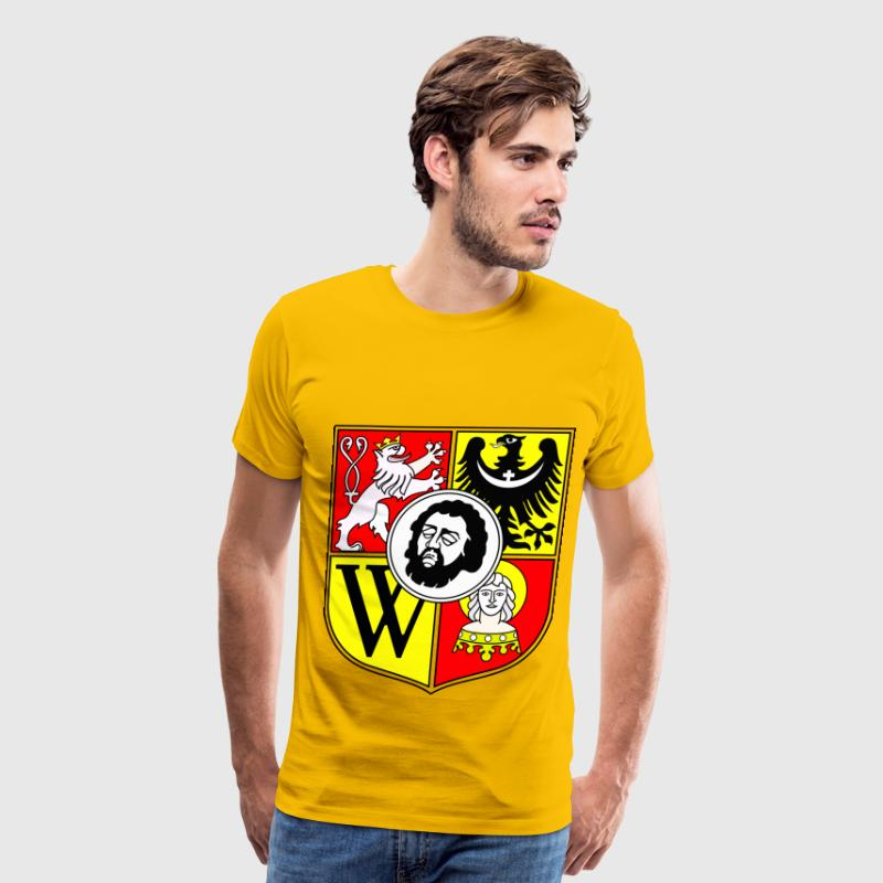 Wroclaw Coat Of Arms - Men's Premium T-Shirt