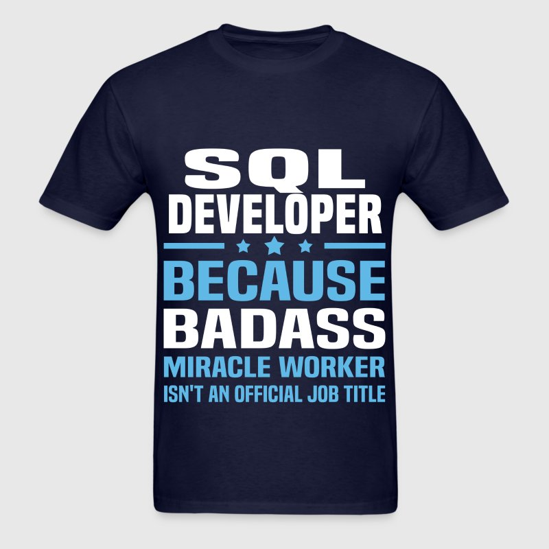 SQL Developer Tshirt - Men's T-Shirt