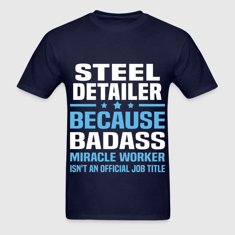 Steel Detailer Tshirt - Men's T-Shirt